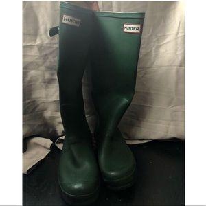Hunter rain boots size 10/11